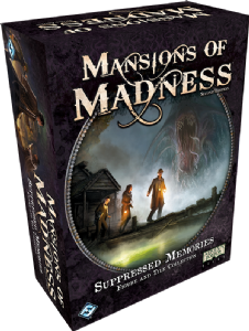Mansions of Madness (second Edition) : Suppressed Memories Figure and Tile Collection